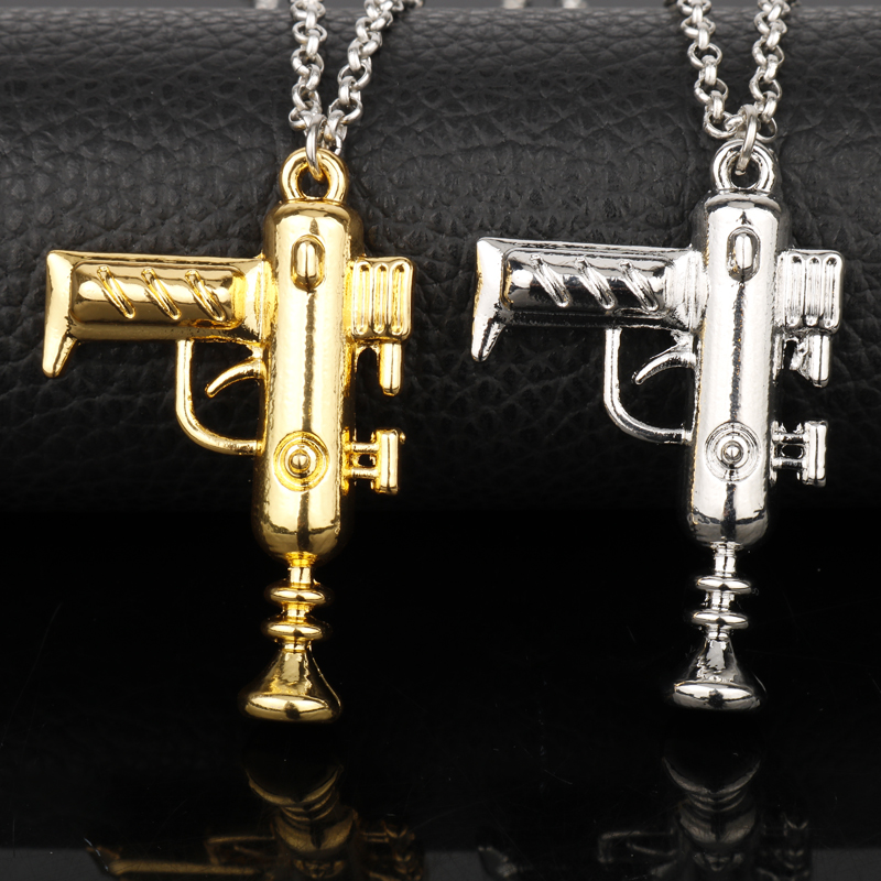 Dongsheng Anime 3d Machine Gun Rick And Morty Necklaces Portal