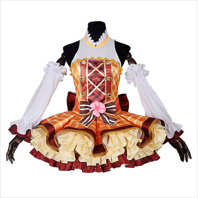 Anime Love Live Sunshine Cosplay Costume Bouquet Awakening Honoka Kousaka Cosplay Polyester Irregular For Women Halloween Party