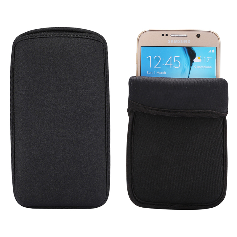 timeless design a467b b0428 US $1.59 20% OFF|KEFO Universal Case Cover For Samsung Galaxy A3 A5 A7 2016  2017 A8 Plus 2018 Waterproof Soft Flexible Neoprene Phone Pouch Bag -in ...
