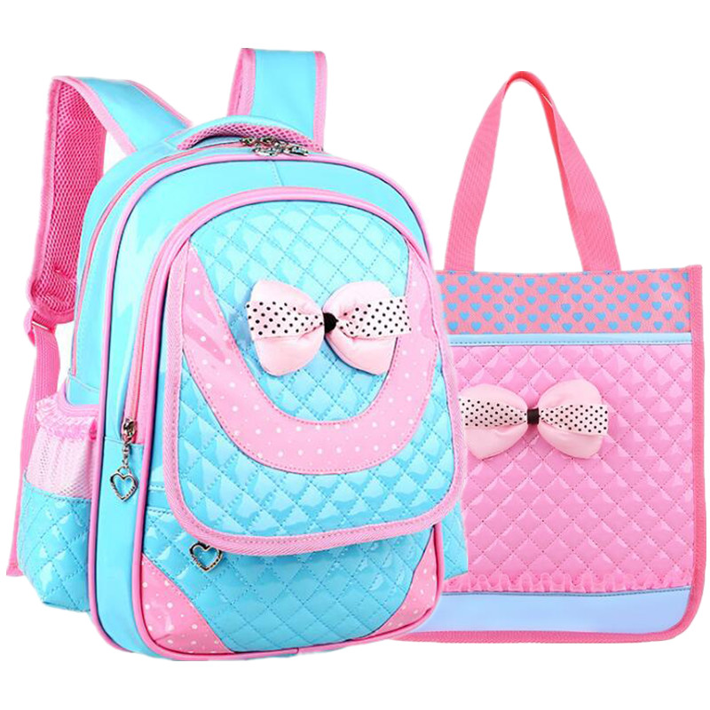 Coolbaby Girl Fashion School Bags Children Pu Leather Bag 1 3 6 Grade Girl Backpack 2017 Korean