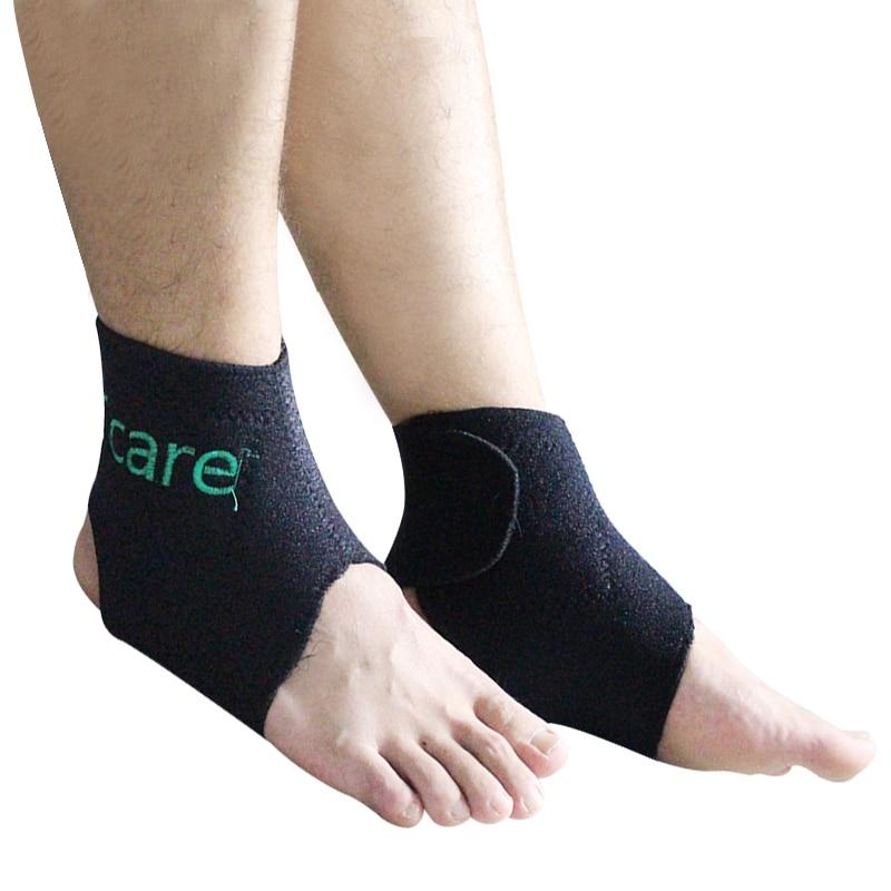 Cuidado 1 par de turmalina autocalentable Soporte de tobillo Terapia - Cuidado de la salud - foto 2