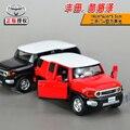 Подарок для ребенка 1 шт. 1:32 14 см Toyota крейсера FJ FJ акустооптического сплава автомобиля отступить модель дети мальчик детские игрушки