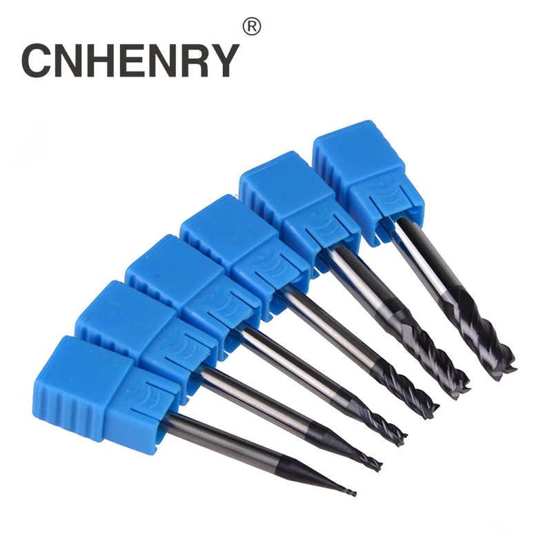 8pc hrc45 D1-D10mm 2 Flutes Tungsten Carbide End Mill Milling Cutter CNC Endmill
