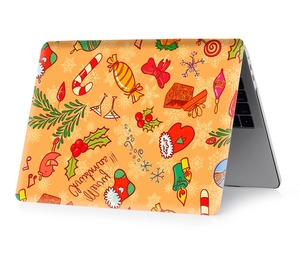 Image 4 - Christmas color printing notebook case for Macbook Air 11 13 Pro Retina 12 13 15 inch Colors Touch Bar New Pro 13 15  New Air 13