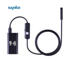 8 мм Объектив WIFI Android IPhone эндоскопа Камера 1 м 2 м 3.5 м 5 м Водонепроницаемый змея трубой бороскоп 720 P iPhone Камера эндоскопа