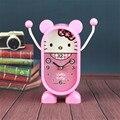 6 Iinch Crianças Manhã Moderno Relógio Temporizador Eletrônico Despertador Bateria Casa Decoração relógios relógio Relógios de Mesa Desk Gadget