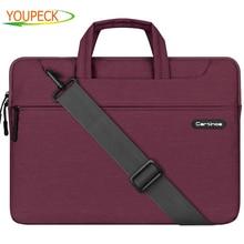 Cartinoe Laptop Sleeve Case for MacBook Air 11 12 Pro 13 15 14 15.6 inch Notebook Carrying Handbag Shoulder Messenger Bag Pouch