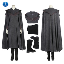 ManLuYunXiao Hot TV Shows Game of Thrones 7 Cosplay Costume Mother of Dragons Costume Halloween Costumes For Women Custom Made printio mother of dragons game of thrones