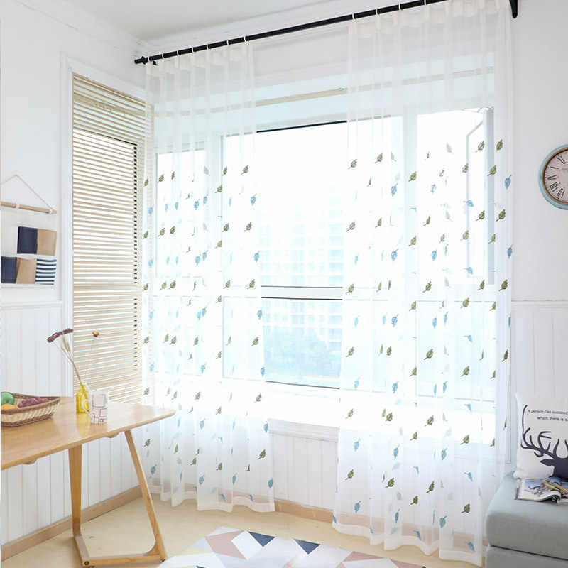 curtains kitchen curtains window living room living room curtain panel embroidered curtain fabrics door 311&30