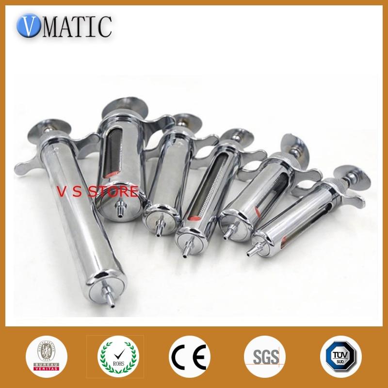 20ml Stainless Steel Metal Syringe цены онлайн