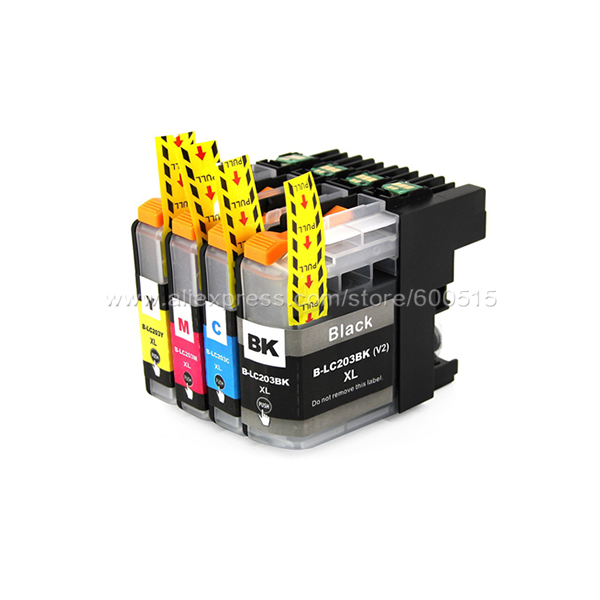 ink cartridge LC203 LC201 compatible brother MFC J4320DW J4420DW J4620DW J5520DW J5620DW J5720DW J460DW J480DW J485DW