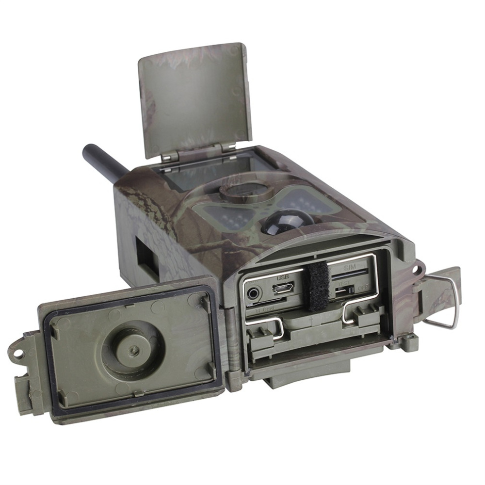 Hot Worldwide HC500M HD GSM MMS GPRS SMS Control Scouting Infrared Trail Hunting Camera Wholesale sim900a development board gsm gprs stm32 module sms wireless data dtmf mms