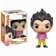 FUNKO POP Anime Dragon Ball Z Badmen Vegeta #158 Collection Model Boy Toys Movie Doll Action Figures Kids for Children