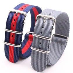 Ремешок для часов Часы Оптом Для мужчин нейлон НАТО ремешок Ремешок Водонепроницаемый ремешок на для часов