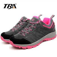 2019 TBA Unisex Waterproof Breathable Hiking Shoes Man Nylon leather Trekking Sneakers Men Gray outdoor Mountain Climbing Shoes