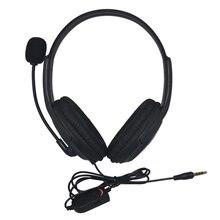 10 PCS Wired Gaming Headset Fone De Ouvido com microfone Para Playstation 4 para PS4 controlador de jogo