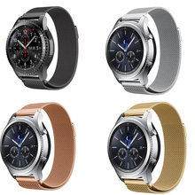 20 22mm bracelet pebble time Huawei watch GT 2 pro zenwatch For Samsung galaxy watch 46 42 Band active Gear s2 S3 Neo Live Strap 22mm milanese loop band stainless steel bracelet magnetic strap for pebble time asus zenwatch 1 2 men lg g watch w100 w110 w150