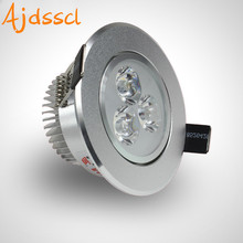 LED downlight Recessed SOPT  Hot Sale 6W 9W 12W 15W 21W  AC220V LED Ceiling Downlight Dimmable led Downlight LED Spot Light