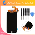 LL TRADER 100% Brand New LCD For Motorola MOTO G4 LCD Display Touch Screen Digitizer Assembly Replacement Free Shipping+Tools