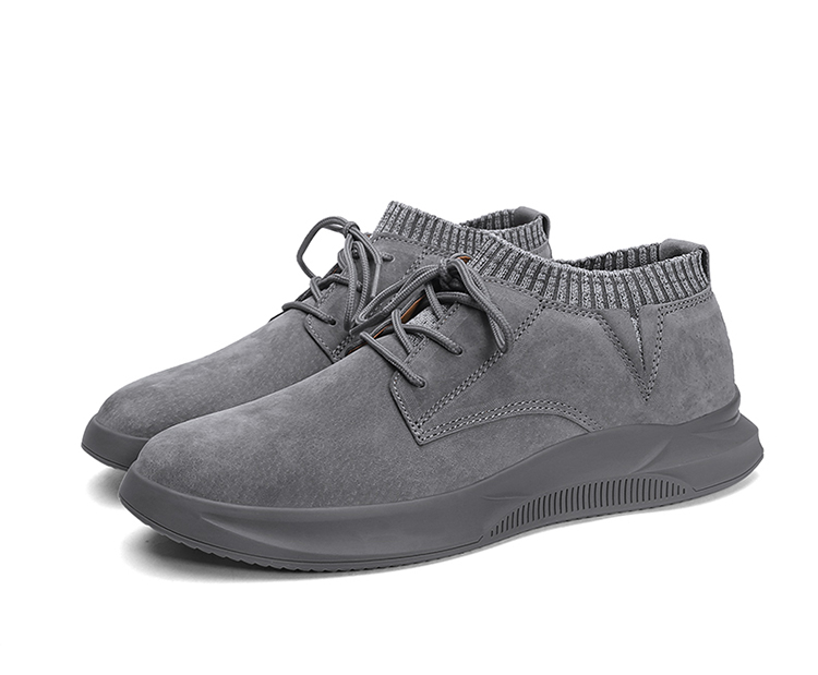 Casual Genuine Leather Suede Sneakers Unisex 12