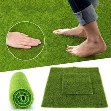 Synthetic Mesh Artificial Grass Mat Turf Lawn Outdoor Garden Landscape Ornament Home Decor Carpet for and