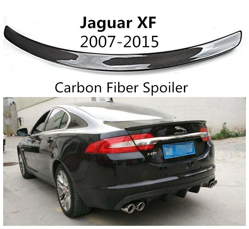 2015 Jaguar Xf Suspension: For Jaguar XF 2007 2015 Carbon Fiber Spoiler Auto Wing