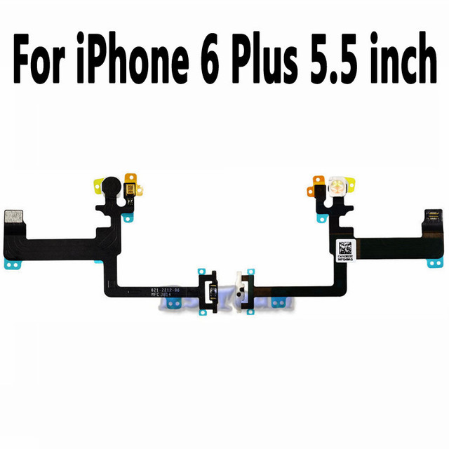 New Replacement Parts For Iphone 6 Plus Power Switch Button Flex