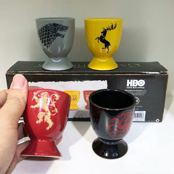Game of Thrones Ceramic Liquor Cup Spirits Cups Set Sake Wine Set Drinkware