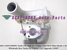 K04 53049500001 Turbo For AUDI A3 TT 1.8T Upgrade Ibiza For Volkswagen VW Beetle ARZ APP AJQ AUM AUQ AVJ ARY AWU BKF BNU 1.8L