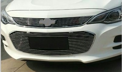 Aluminium Front Center Racing Grills Billet Grille Cover For Chevrolet Cavalier <font><b>2016</b></font> image