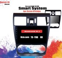 """9 """"Android 10,0 Radio de coche estéreo reproductor Multimedia GPS unidad principal para 2013 2014 2015 2016 Subaru WRX forester 4 + 64GB sistema"""