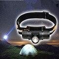S2833 Powerfu светодиодная фара USB заряжаемая 18650 T6 10 Вт Фонарь налобный фонарь 800LM светодиодный тактический фонарь