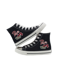 Riverdale Printing Cartoon high top breathable canvas uppers sneakers