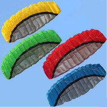 Free Shipping Outdoor Sports Hot Sale 2 5 m Dual Line Stunt Parafoil Nylon Power Kite