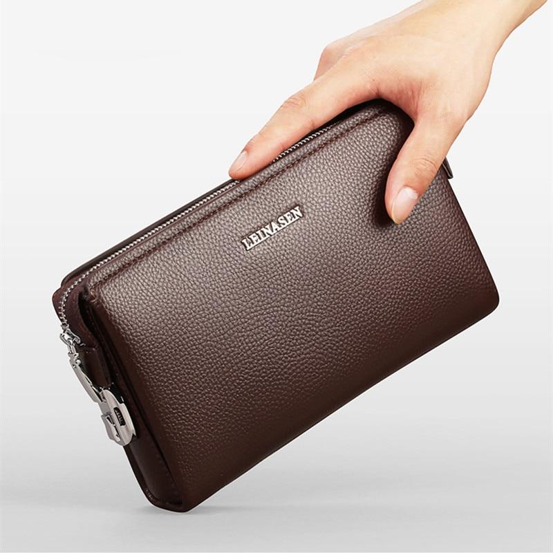 Hot Sale Men Wallet Luxury Long Clutch Handy Bag Male ...