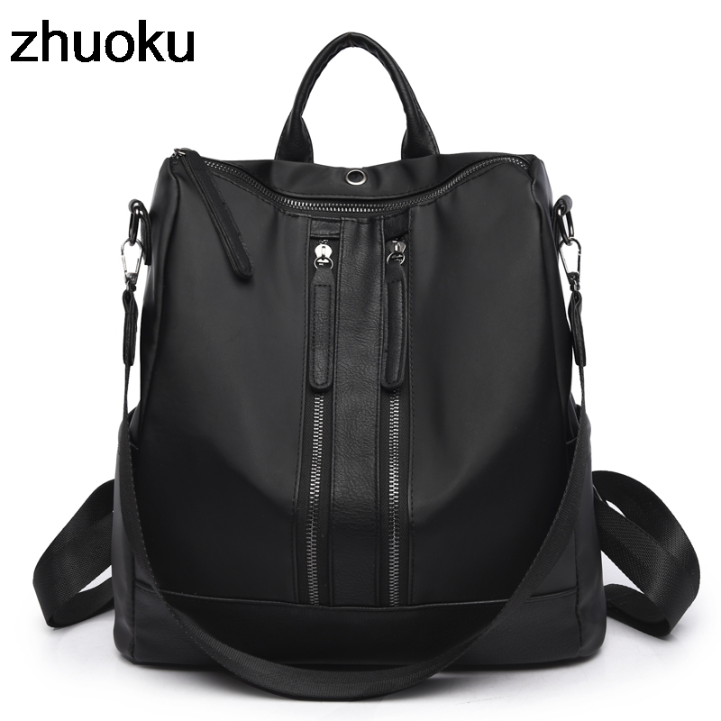 Oxford School Backpack For Girls Shoulder Bag Feminina Mujer Casual Female Backpacks Multifunction Women Kipled Laptop Schoolbag lowepro protactic 450 aw backpack rain professional slr for two cameras bag shoulder camera bag dslr 15 inch laptop