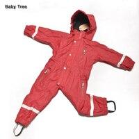 1 7Y Brand Kids Winter Ski Suits 20 Degrees Fleece Lining Waterproof Windproof Children Snowsuits Boys