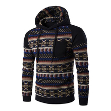 Fashionable national wind men Hoodies