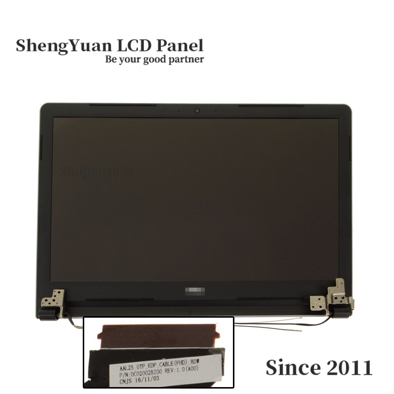 "for Dell Inspiron 15 5555 5558 15.6"" FHD Touchscreen LCD Display Complete Assembly - GHY8R"