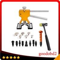 Car Dent Repair Tool PDR Tools Kit Dent Puller Car Paintless Dent Repair Removal Tools Kit Rubber Hammer Metal Tabs Tap Down Pen