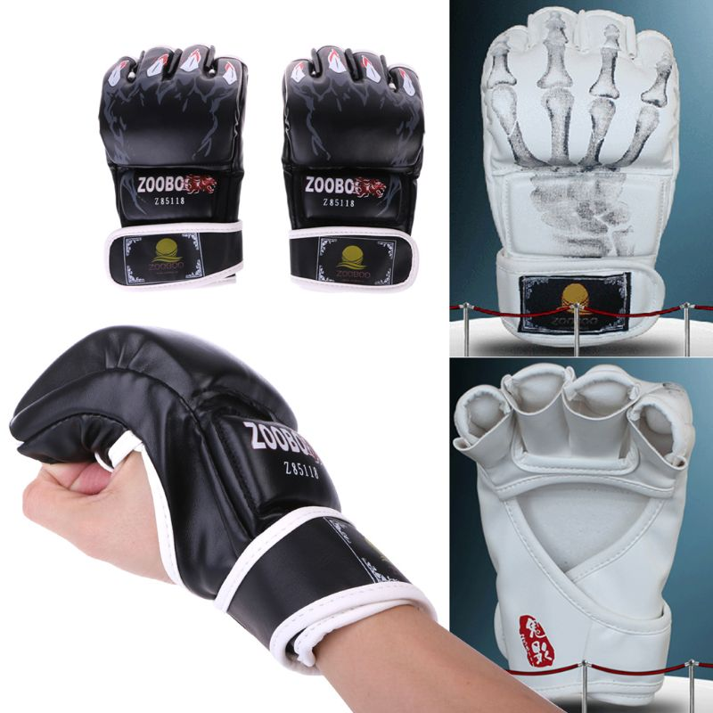 Neue MMA <font><b>UFC</b></font> Sparring Grappling Kampf Boxing Punch Ultimative Mitts Leder Handschuhe image