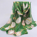Шарф женщин cachecol женщина для бесплатная доставка оптовая моды марка дизайн женщины шейный платок шифон шарфы пашмины shawlrzb
