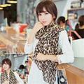2016 autumn winter women fashion Sexy Leopard long scarf lady's soft chiffon shawl wraps scarve 160*70 cm