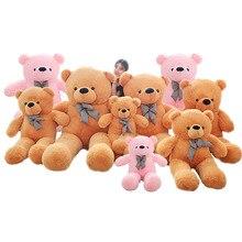 גדול טדי דוב בפלאש צעצועי בובות רך גבוהה באיכות כותנה ממולא בפלאש בעלי חיים ננו בובת פנדה ילדי מתנת יום הולדת הווה