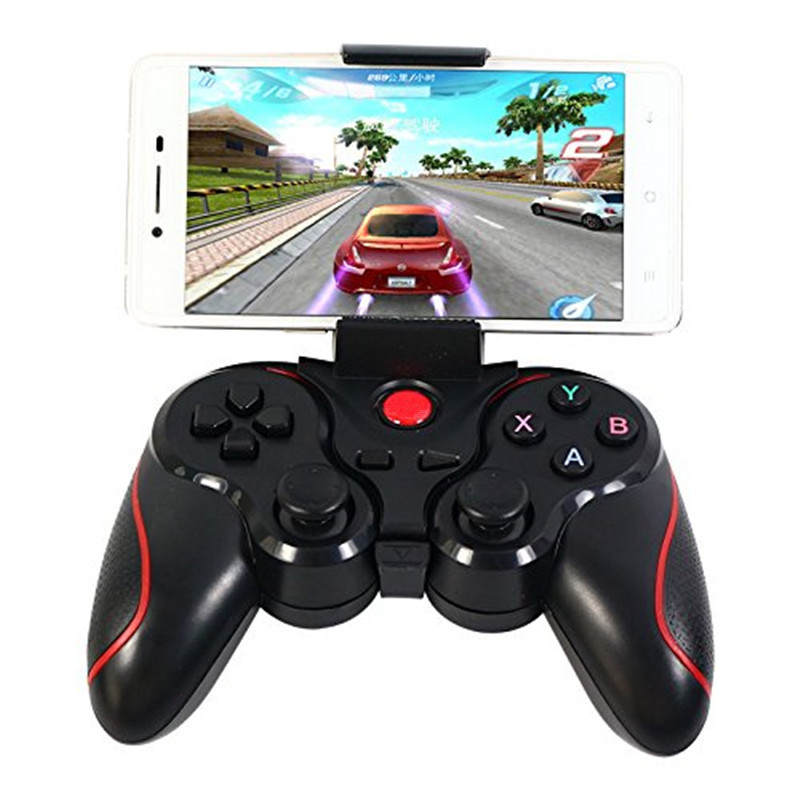 Smartphone Spelkontroller Trådlös Bluetooth Telefon Gamepad Joystick För Android Telefon TV Box Joystick Wireless Joypad Gamepad