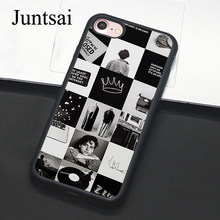 Juntsai Riverdale Jughead Jones tv Cases for iphone 5 5s SE 6 6s 7 8 Plus X Hard Back Cover Case Coque For iphone 7 Plus(China)
