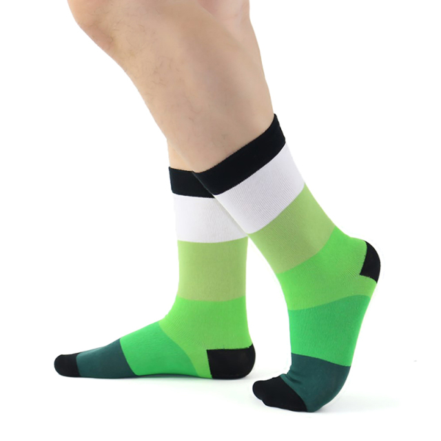 Cotton Men Socks Quality Brand Spring Fall Business Compression Coolmax Funny Striped Colorful Happy Dress Male Socks
