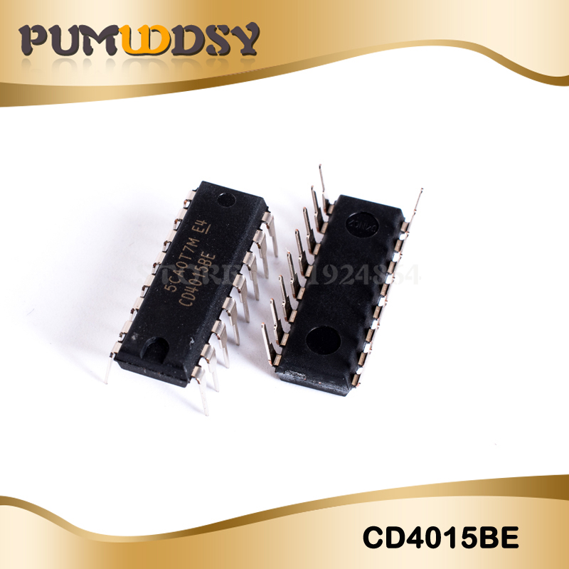 10PCS/LOT CD4015BE CD4015 4015BE 4015 DIP16 New And Original IC IC