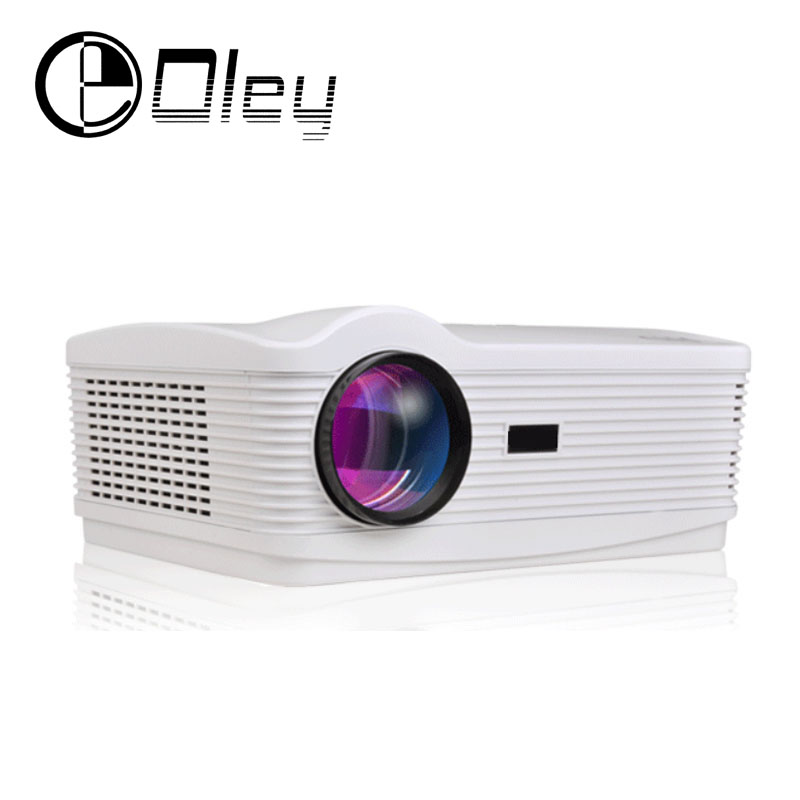 OLEY Portable Multimedia home theater movie HD projector HDMI 5500lumen 1280*800 Digital HD TV 3D Led proyector projektor beamer ноутбук dell vostro 5568 5568 3034 5568 3034
