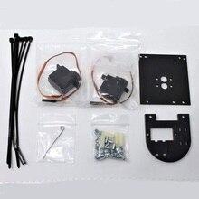 Pixy2 용 1 pcs x pan/tilt2 서보 모터 키트 이중 축 로봇 카메라 마운트